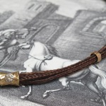 Collier aus geflochtenem Pferdehaar